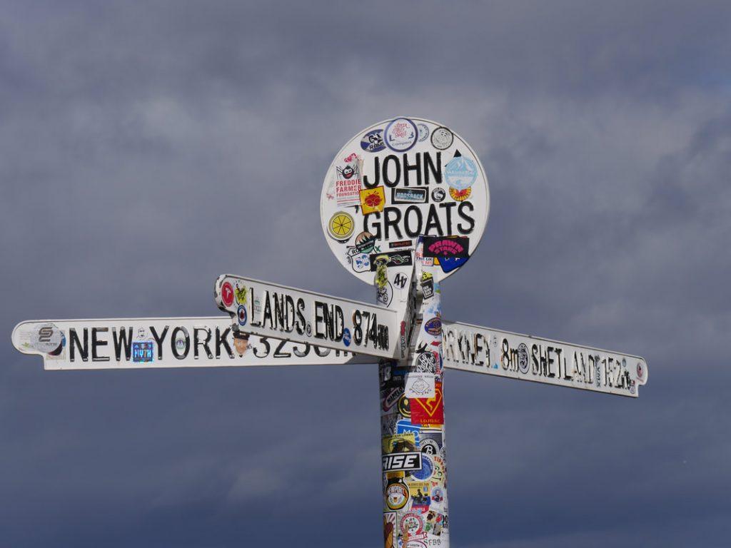 John O'Groat's Fingerpost