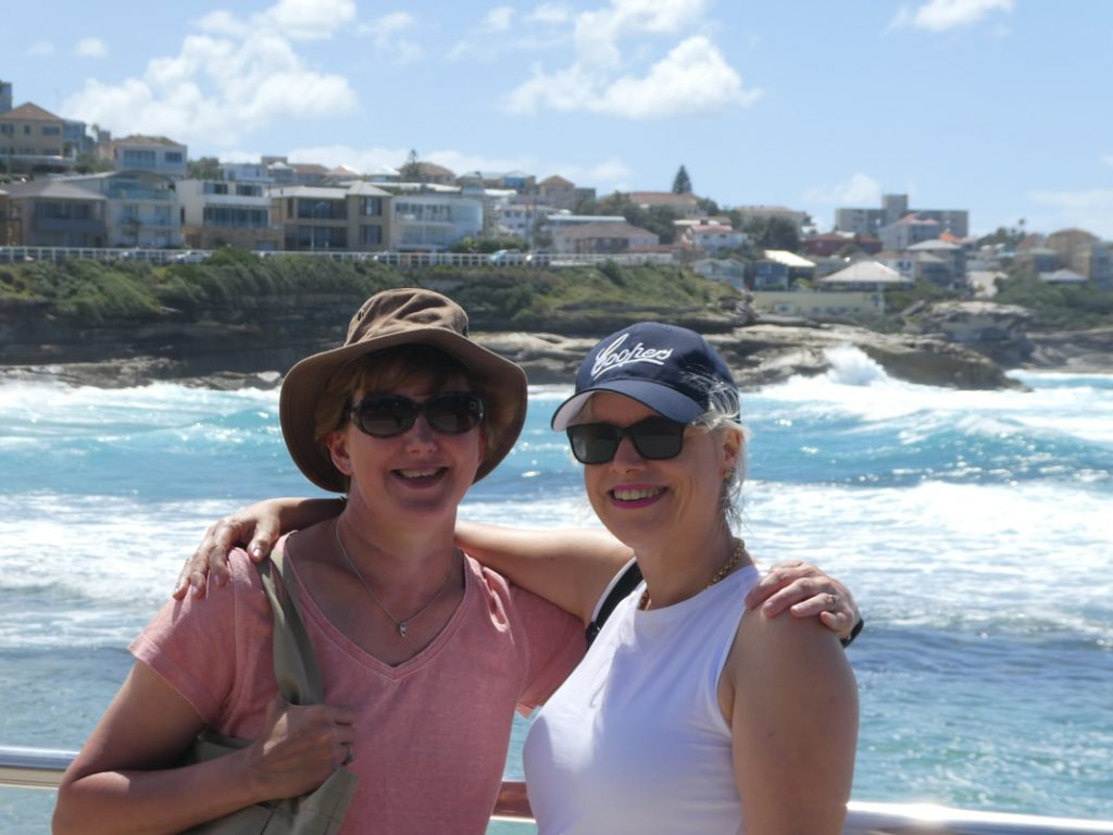 Friends Reunited Sydney Coogee Beach