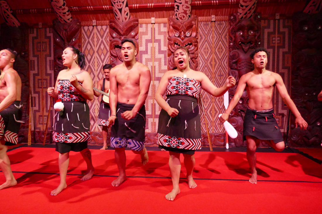 KeriKeri Waitangi Treaty Grounds - Maori Cultural Performance