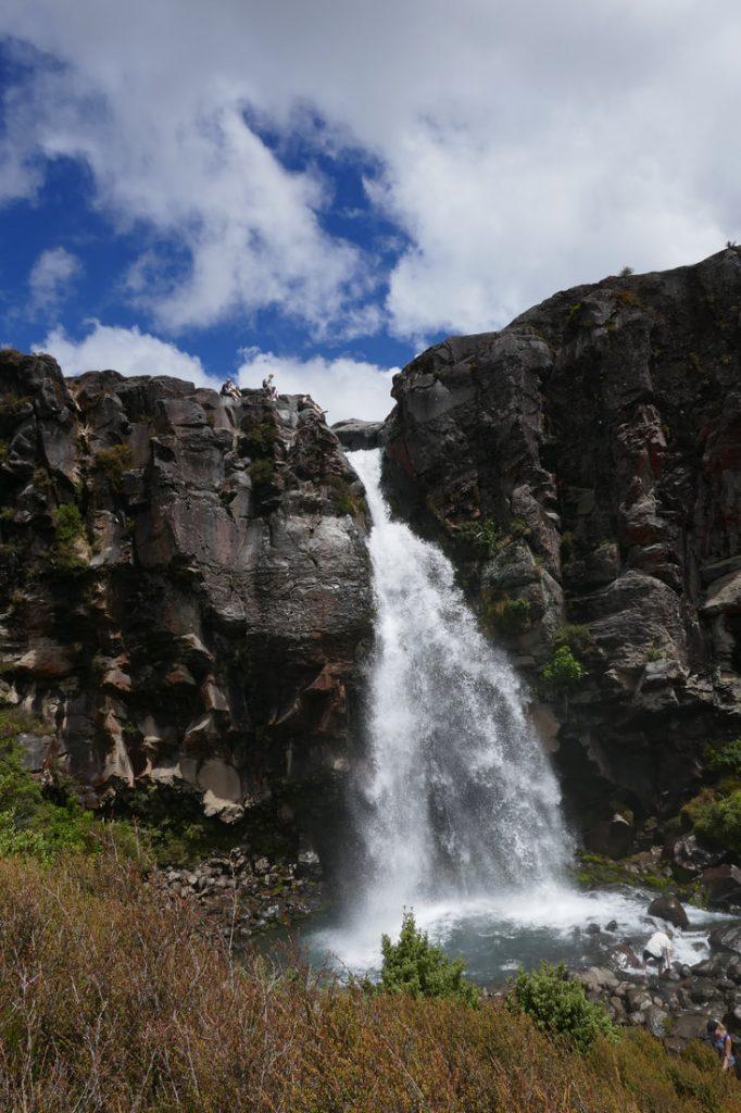 Tongariro Alpine Crossing Taranaki Falls