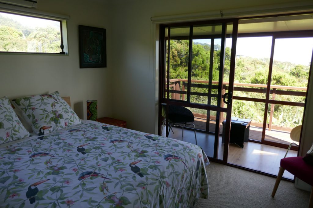 The Rocks Homestay Punakaiki Bedroom
