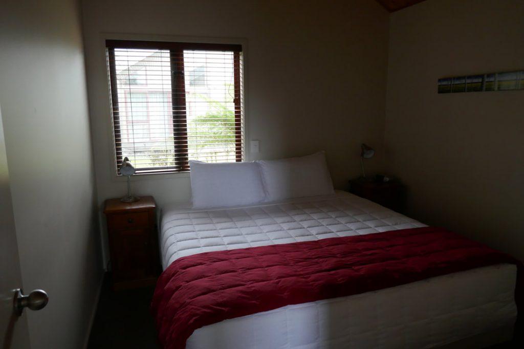 Glenfern Villas Franz Josef Bedroom