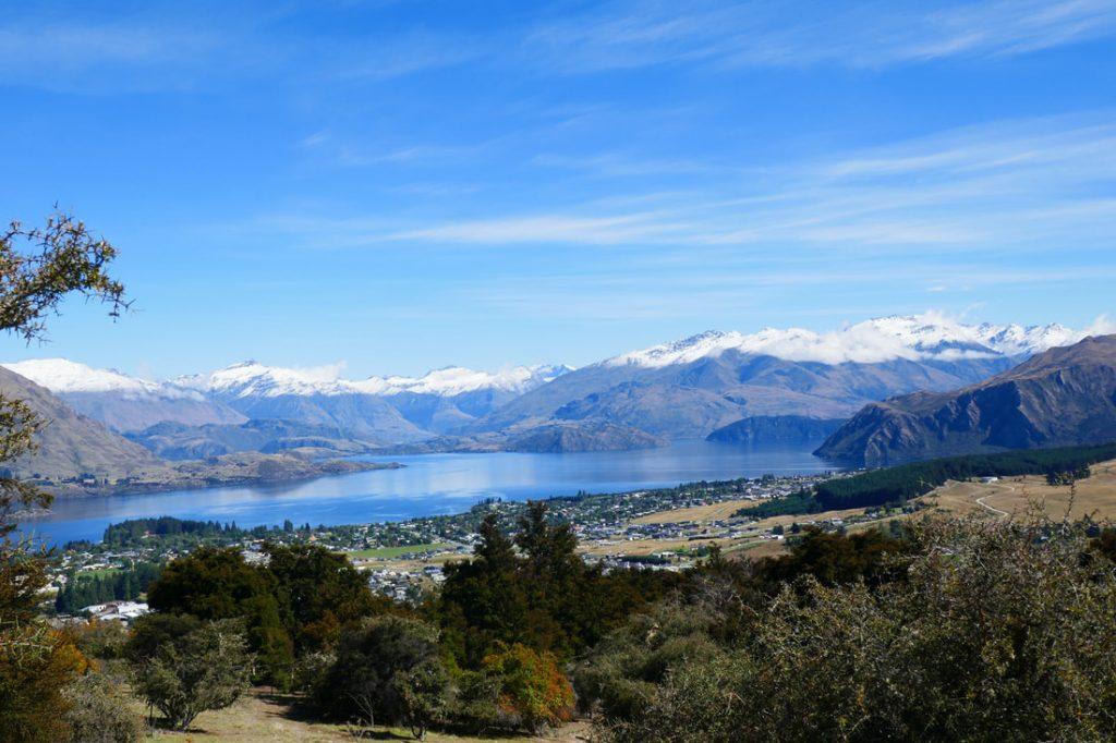 Wonderful Wanaka View of Wanaka from Mount Iron