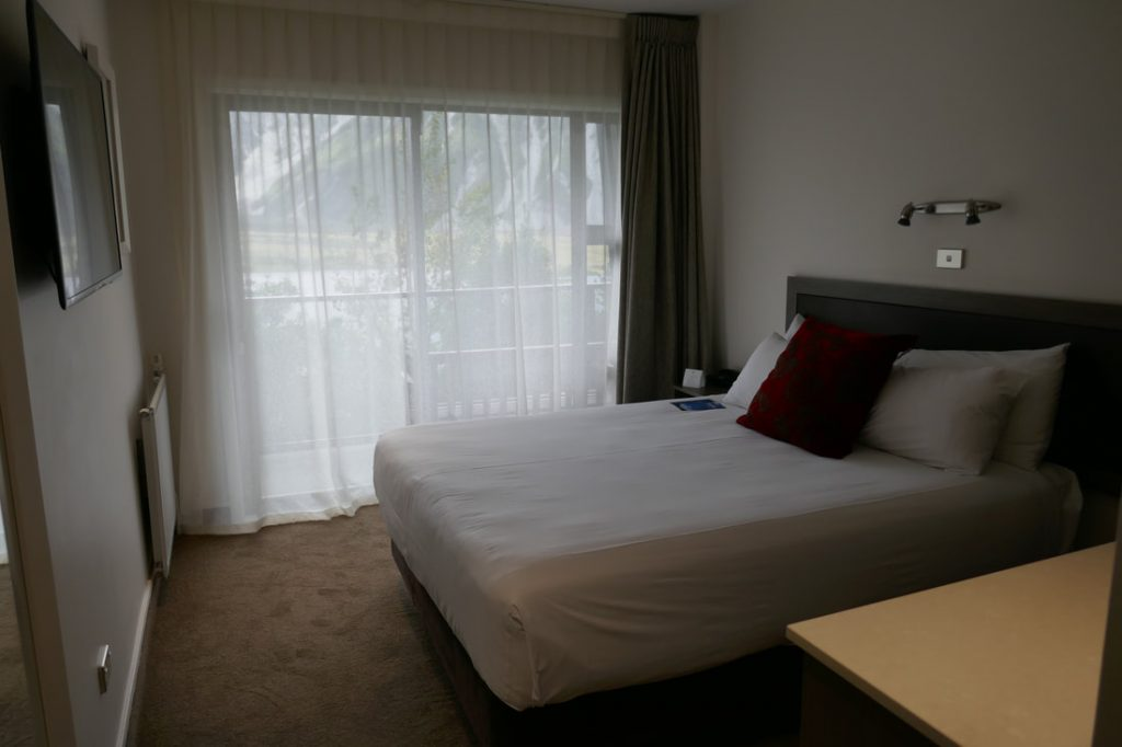 The Hermitage Mount Cook bedroom