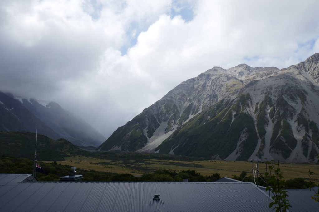 Christchurch Beast from the East The Hermitage Mount Cook view