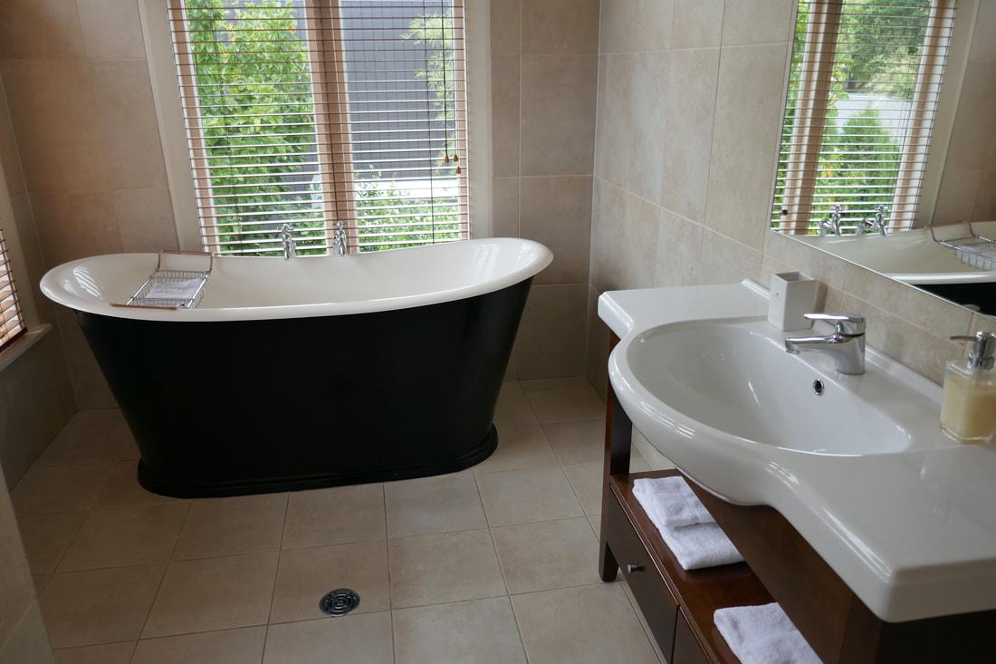 Eliza's Manor Boutique Hotel Christchurch bathroom