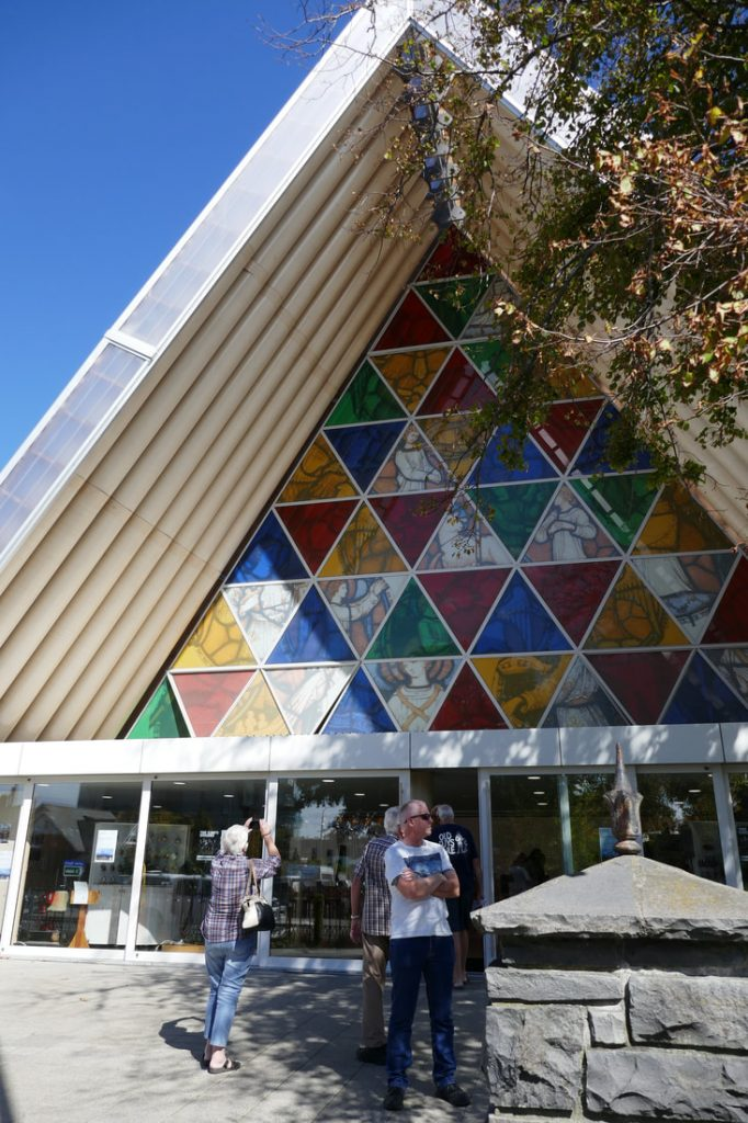 Beast from the East Christchurch Cardboard Cathedral