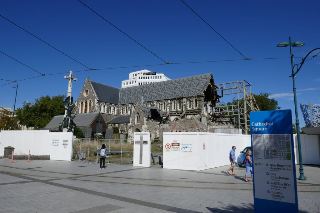 Beast from the East Christchurch Cathedral