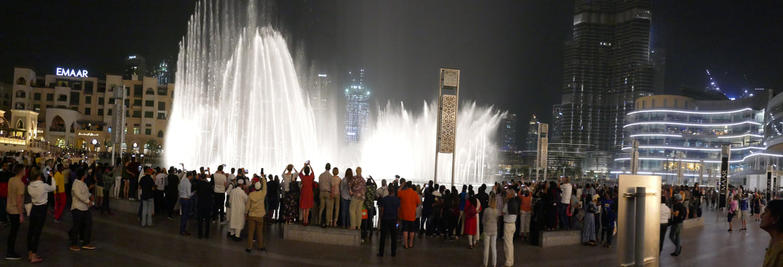 Fountain show - Dubai Mall