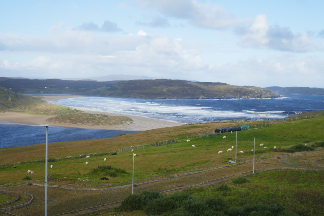 Accommodation Review Bettyhill Hotel - View