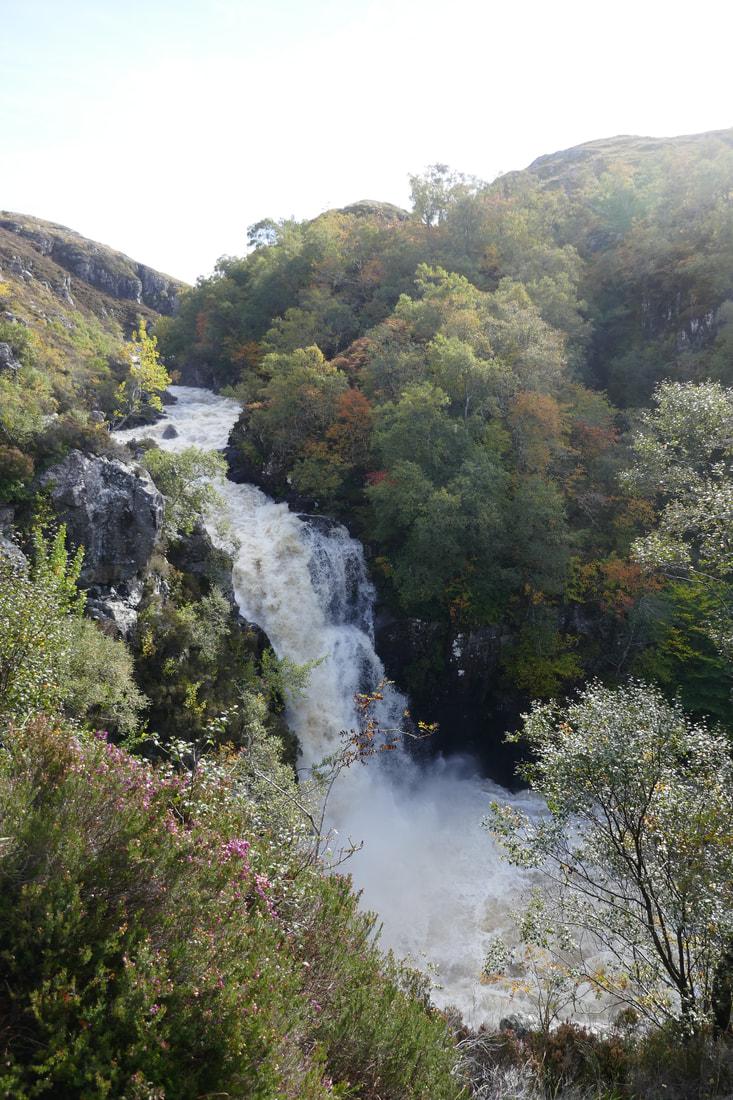 Kylesku to Aultbea Kirkaig Falls