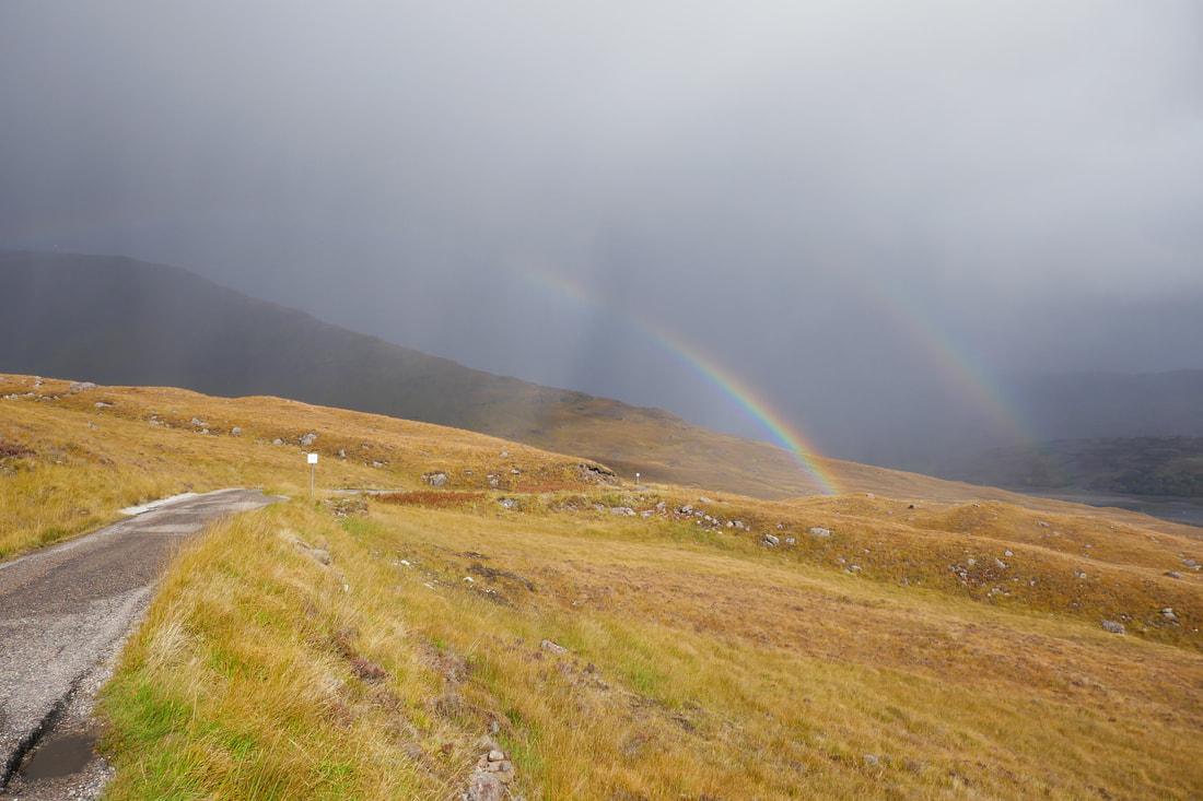 Chasing Rainbows on the North Coast 500