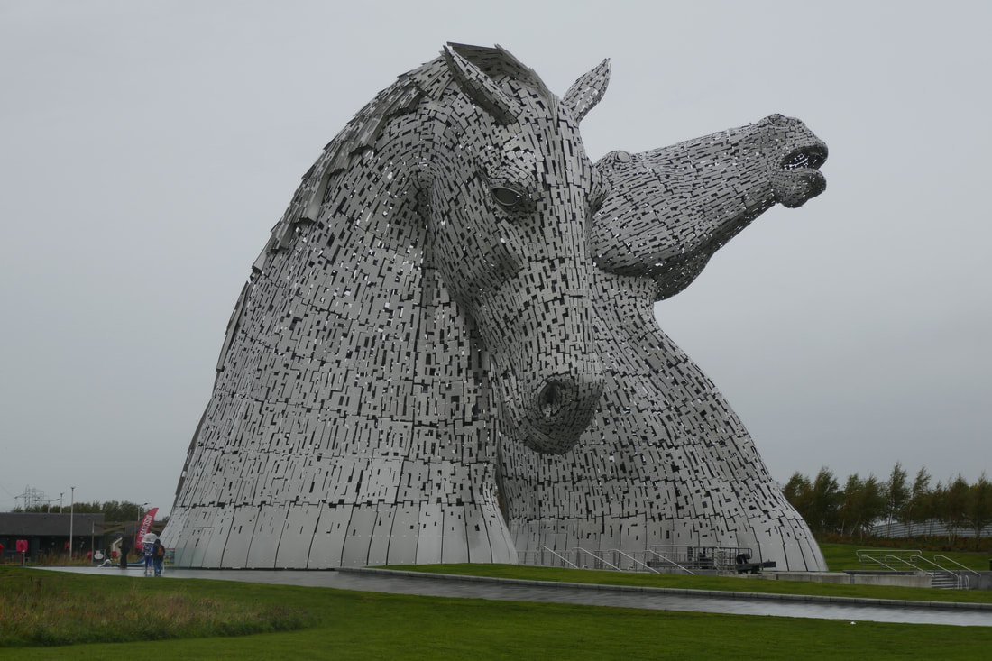A Smooth Finish via The Kelpies