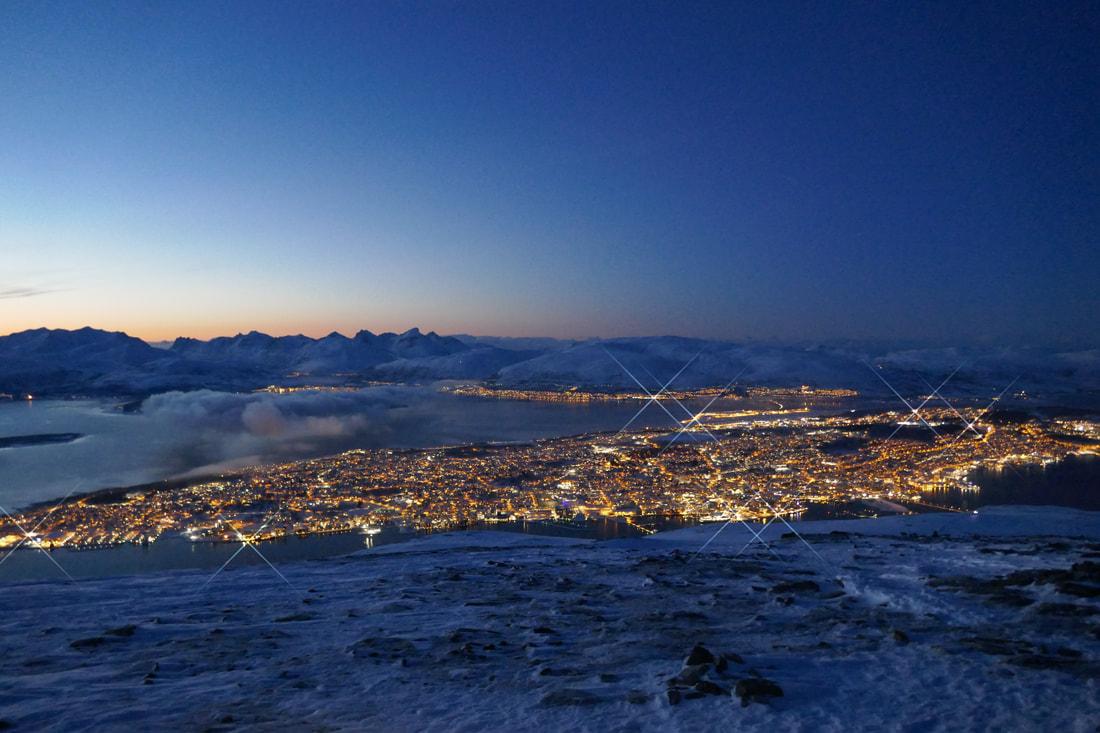 Tromsø by night