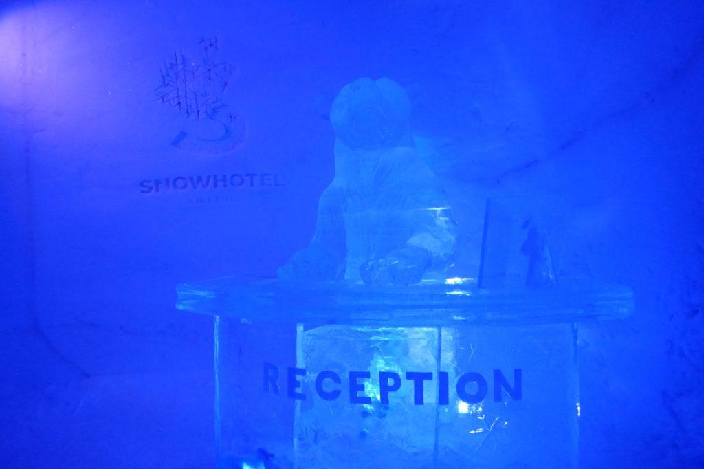 Snow Hotel Kirkenes Reception
