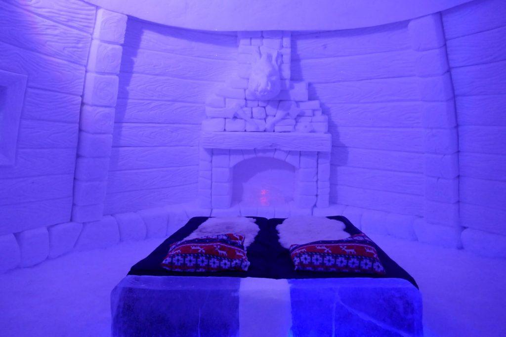 Snow Hotel Kirkenes Interior