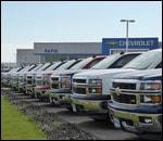 Battle of the Little Bighorn Chevrolet Line Up