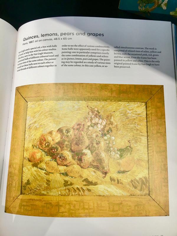 Amsterdam Day 2 Van Gough Museum - Quinces, Lemons, Pear and Grapes 1887