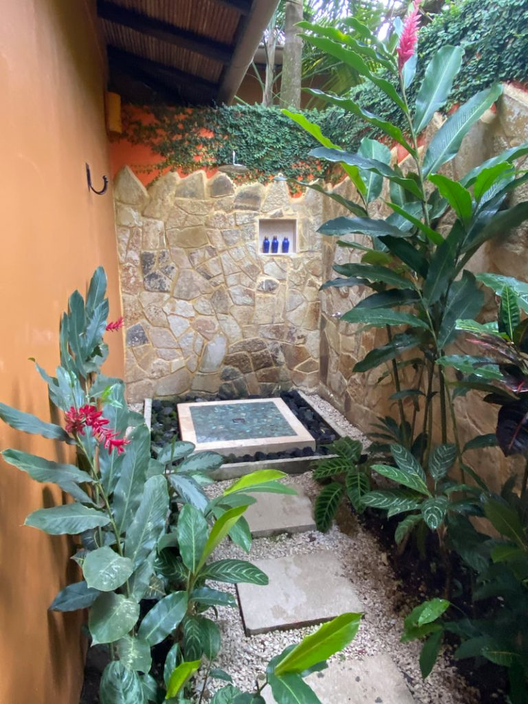 Nayara Resort Costa Rica Outdoor Shower