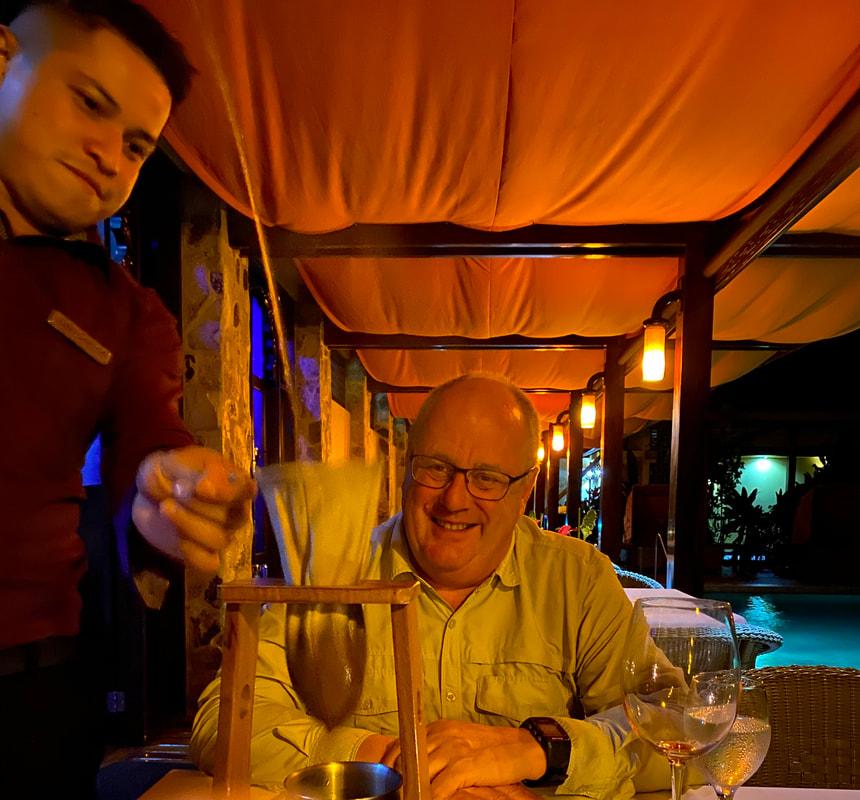 Nayara Resort Costa Rica Café Flambée - Amor Loco