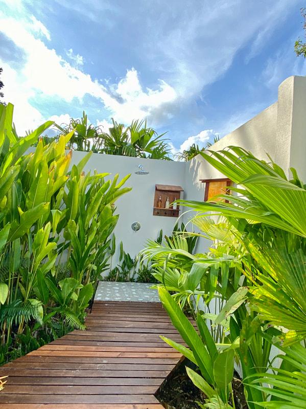 Lapa Rios Eco Lodge Costa Rica Outdoor Shower