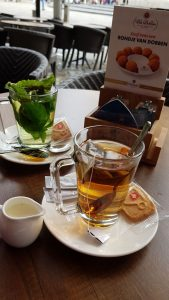 Amsterdam Day 1 Mint Tea Dam Square