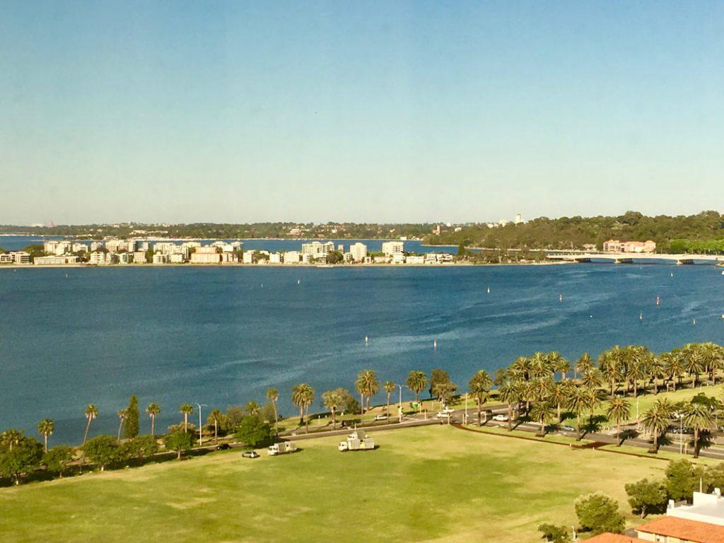 Pan Pacific Perth WA View