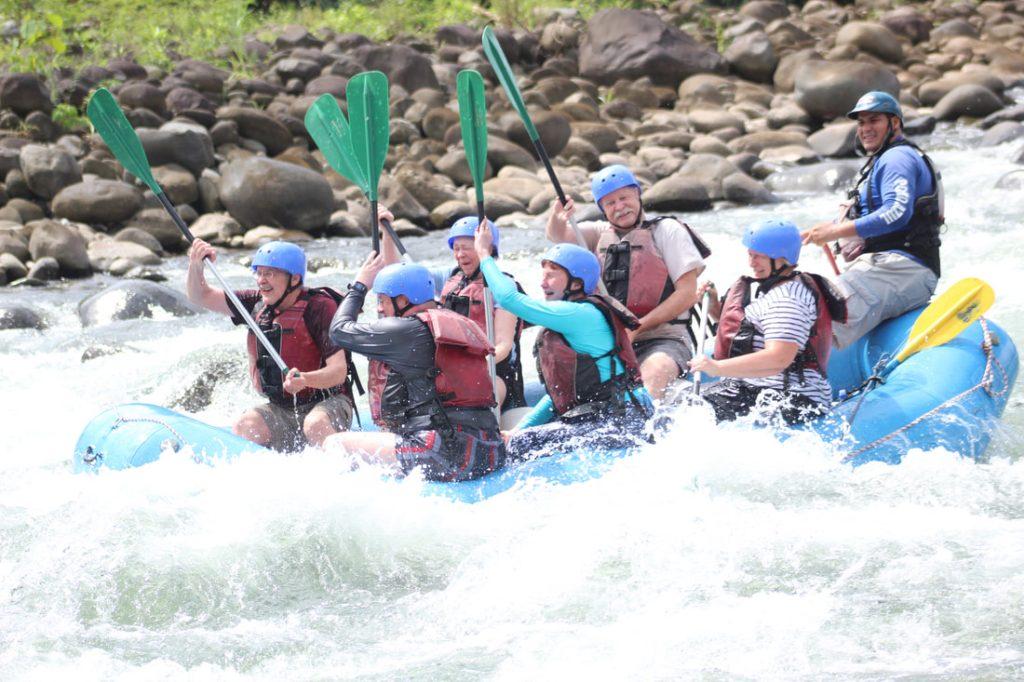 Sarapiqui River Rafting Pozo Azul Avdventures Costa Rica