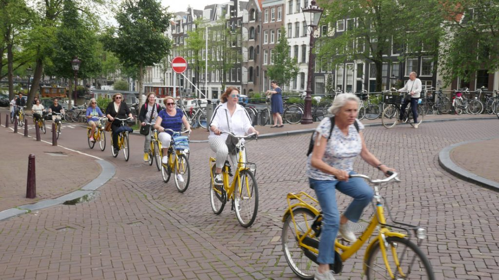 Amsterdam Day 2 Think Once, Think Twice, Think Bike!