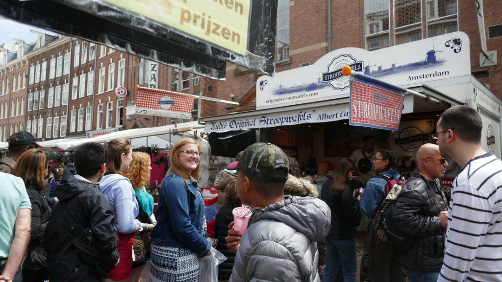 Amsterdam Day 3 Stroopwafels - Albert Cuypstraat