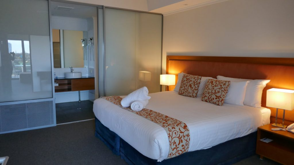 Seashells Mandurah WA Bedroom