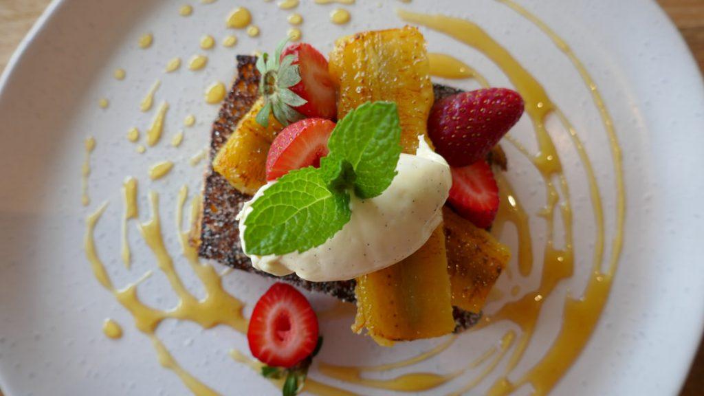 Cape Lodge WA French Toast