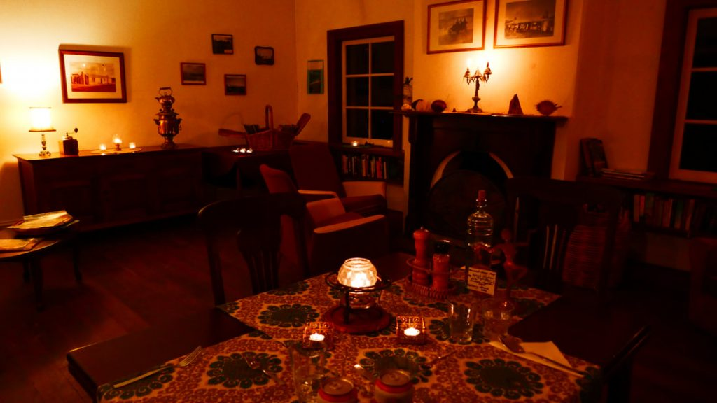 Quaalup Homestead Wilderness Retreat WA Restaurant