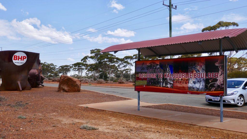 #Driveyourselfwild WA Welcome to Kalgoorlie