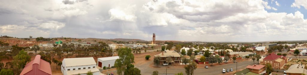 #Driveyourselfwild WA Kalgoorlie - view from the top of a mine shaft