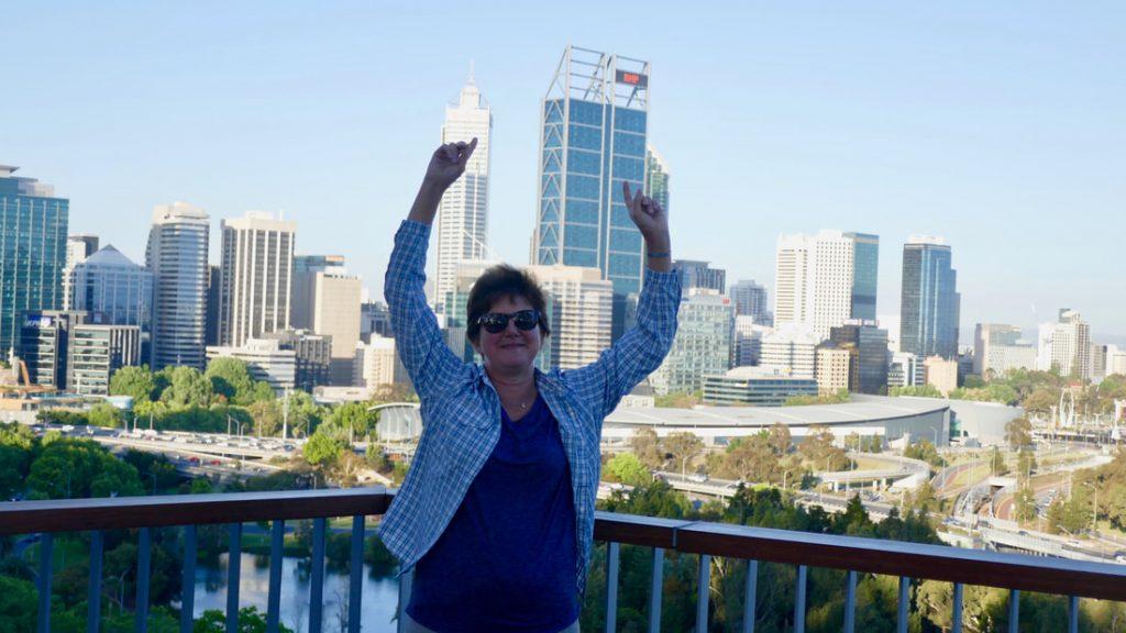Kalgoorlie to Perth Skyline