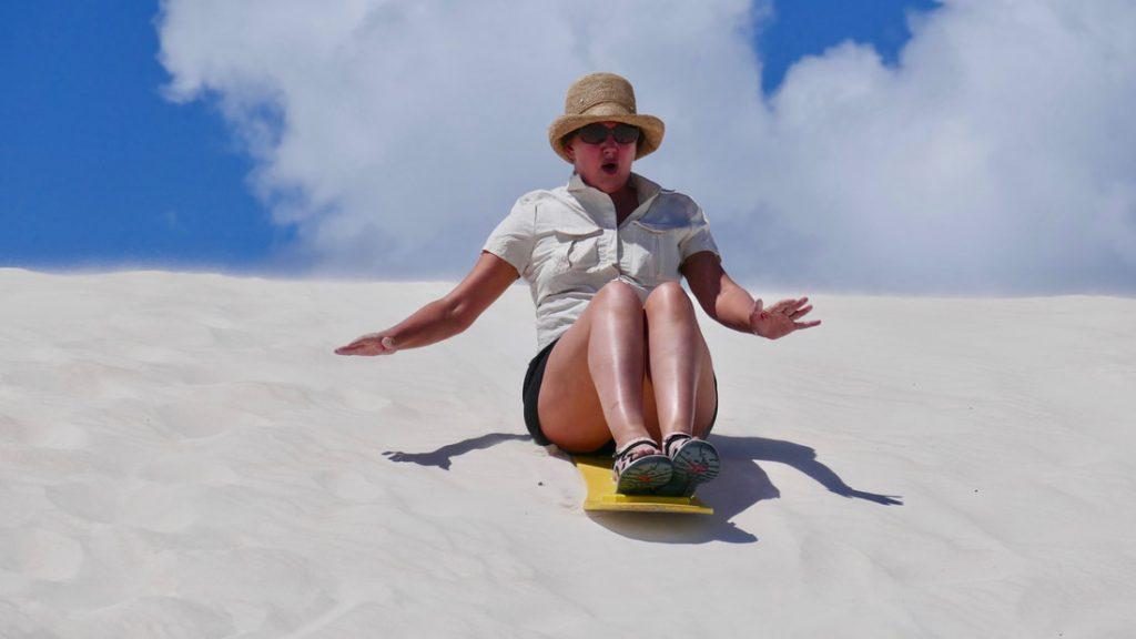 Perth to Geraldton Lancelin Sand Dunes