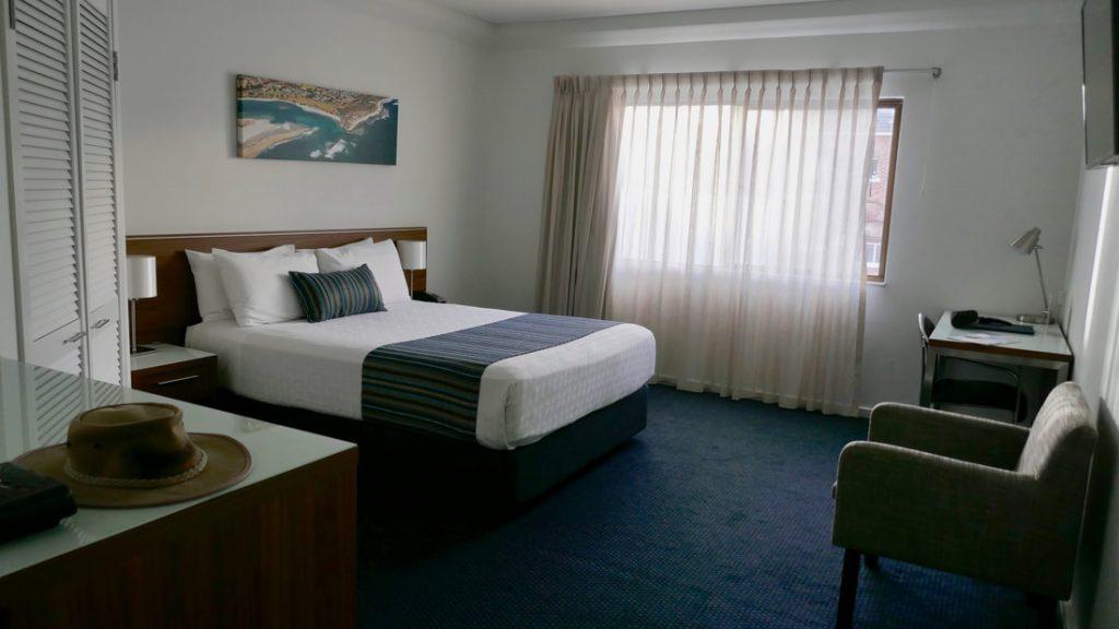 Ocean Centre Hotel Geraldton WA Bedroom
