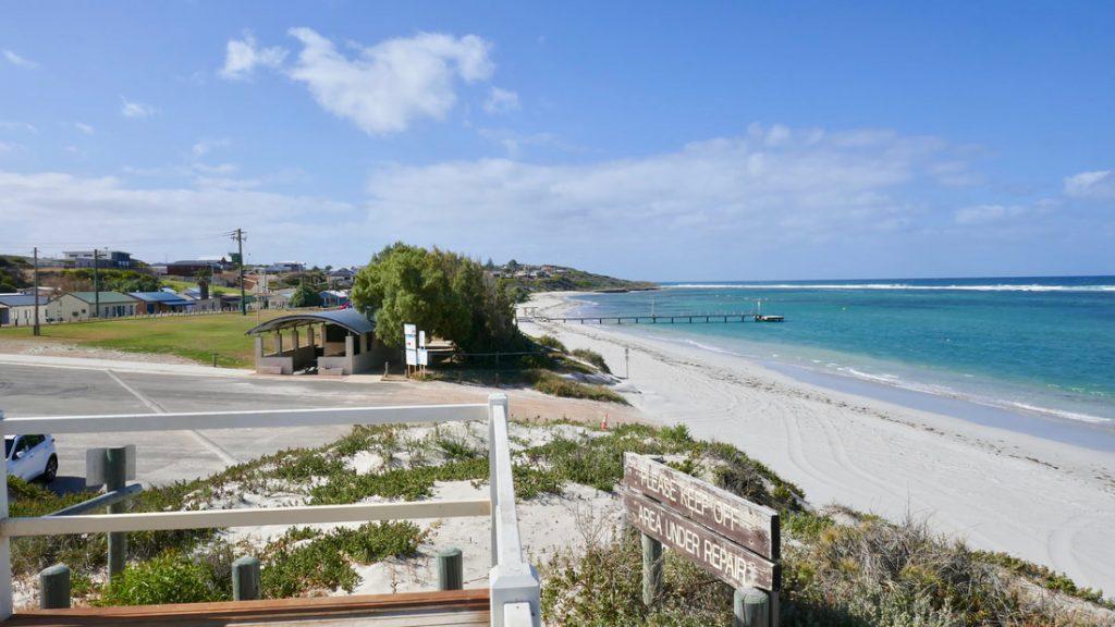 Geraldton to Monkey Mia RUOK? Horrocks Beach