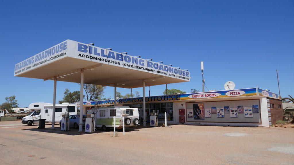 Geraldton to Monkey Mia Billabong Roadhouse WA