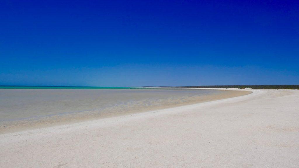Geraldton to Monkey Mia Shell Beach WA