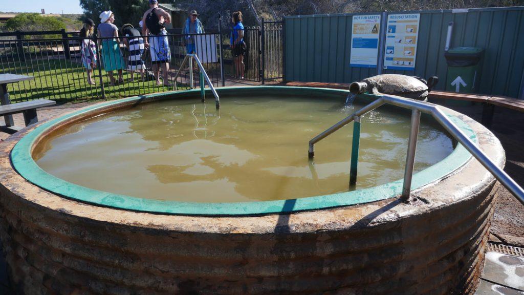 Monkey Mia Shark Bay Artesian Hot Tub Francois Peron National Park