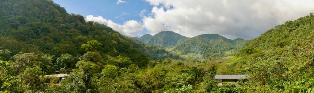 Mountains around El Silence Lodge Costa Rica