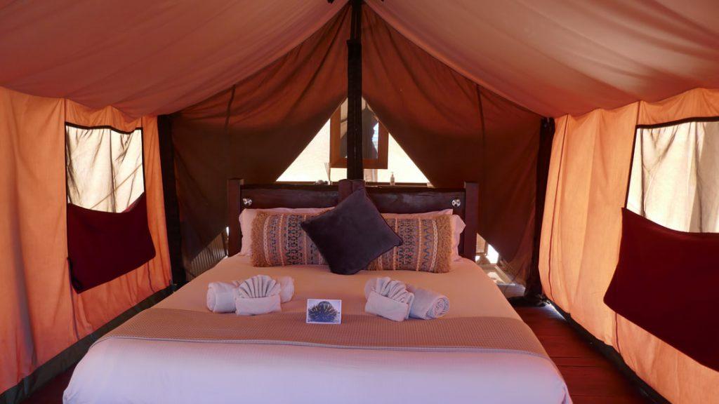 Sal Salis WA Inside the Tent