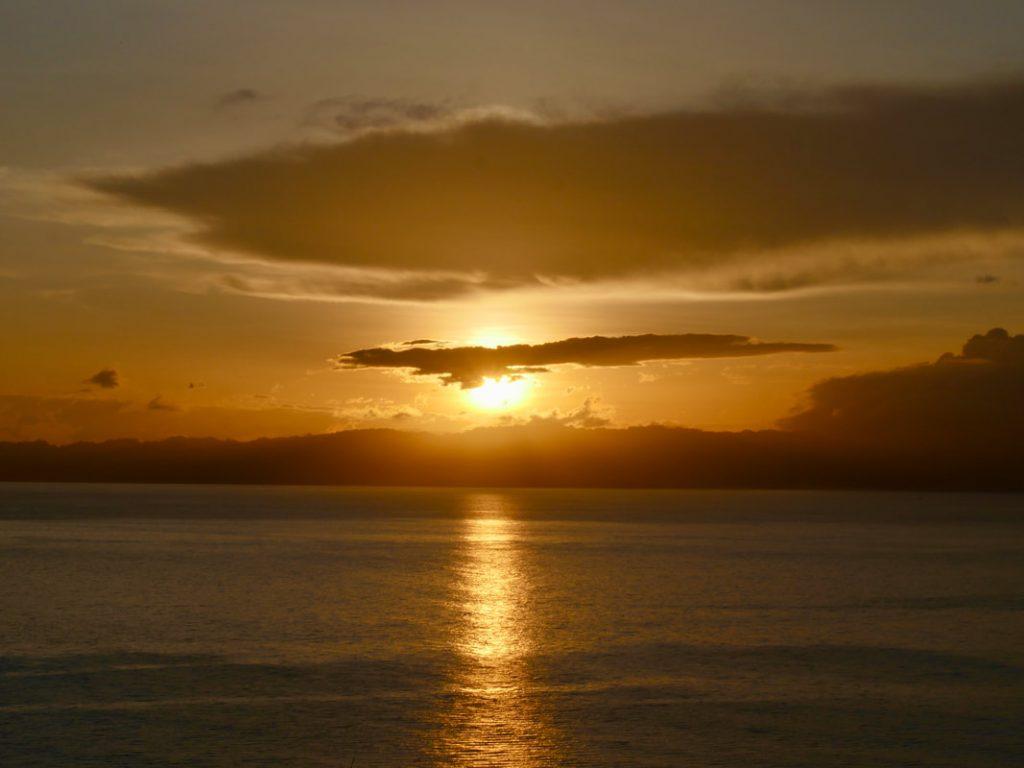 Pacific Ocean Sunrise Costa Rica