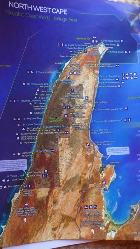 Sal Salis WA Location Map