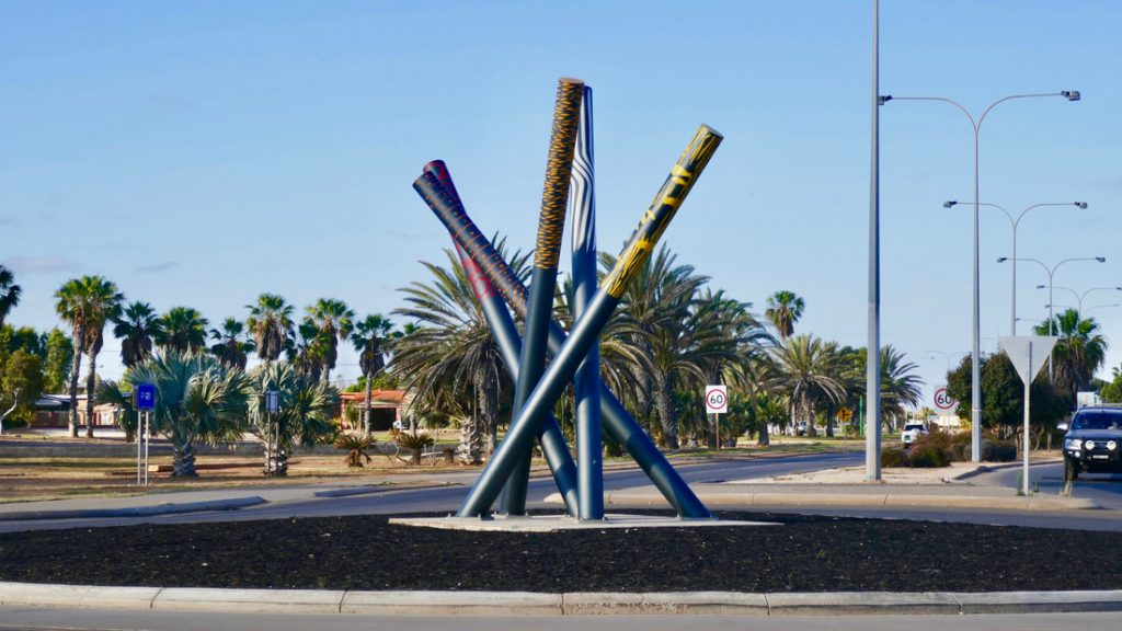 Exmouth to Carnarvon Didgeridoo Roundabout WA