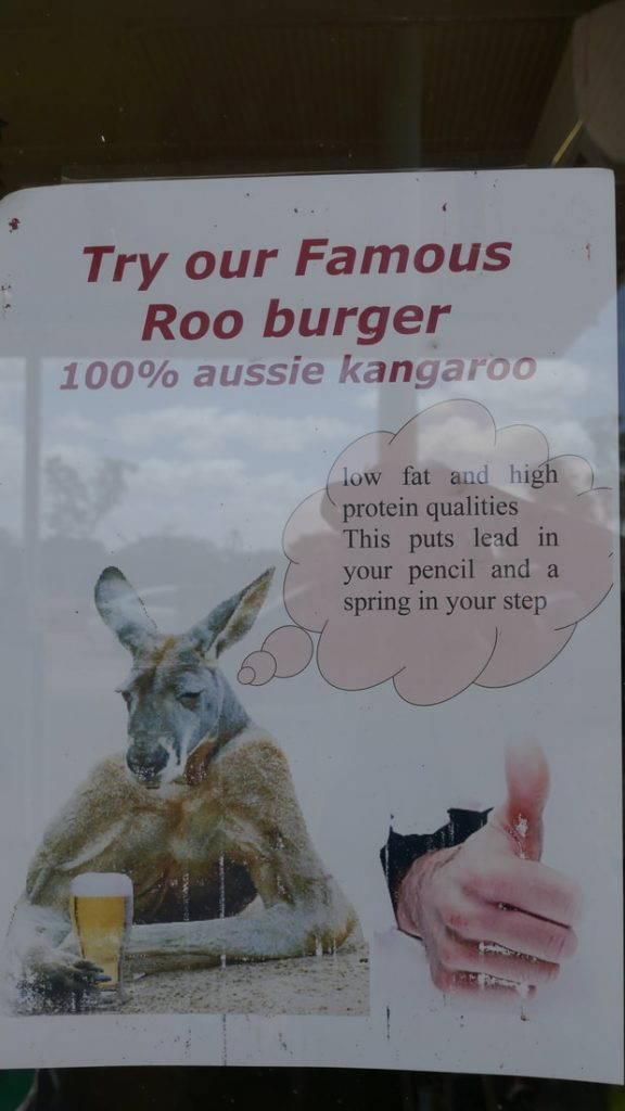 Perth to Geraldton RUOK? Billabong Roadhouse - Aussie humour