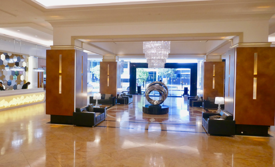 Duxton Hotel Perth WA Lobby