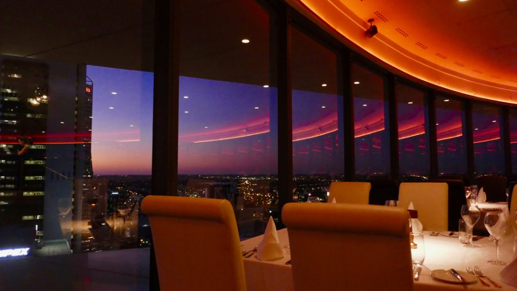 Return to Perth – Fremantle and Dining on top of the World WA C Restaurant in the Sky Perth